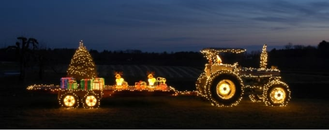 DOES YOUR HOLIDAY PURCHASE GUIDE INCLUDE FARM EQUIPMENT OR