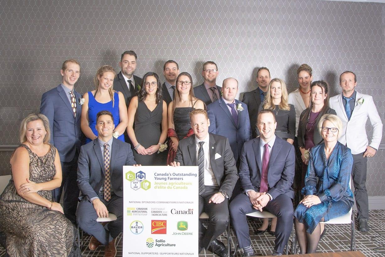OYF Honourees + Sponsors